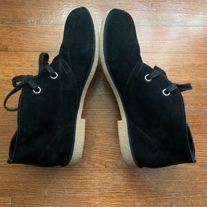 9.5 Lucky Brand Suede Booties